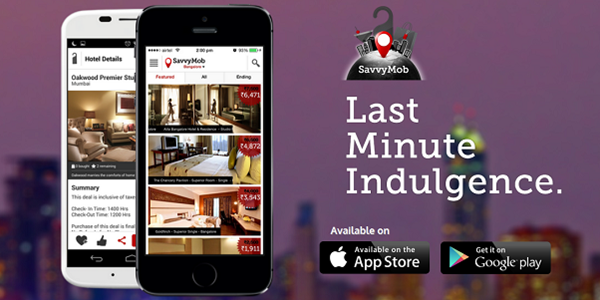 Startup pitch: SavvyMob last-minute hotel booking on mobiles to India