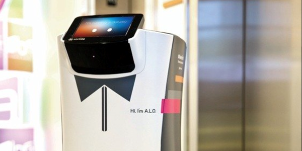 From novelty to ultilty: Aloft's robobutler rolls into Silicon Valley