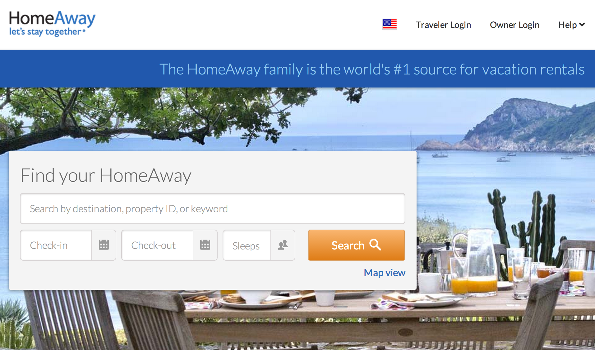 HomeAway expands with Expedia, listing over 100k home