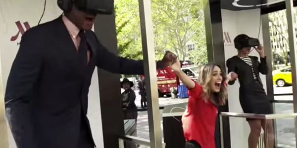 Marketing watch: Marriott's Teleporters entertain and inspire newlyweds with virtual reality