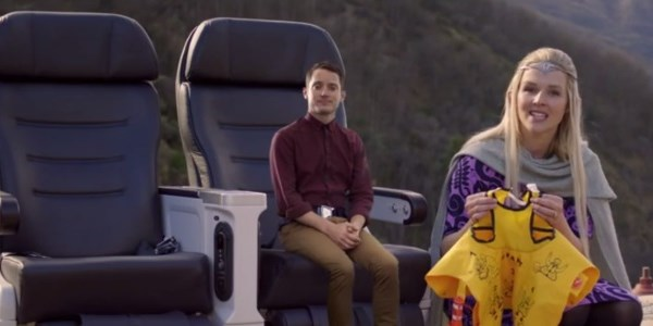 Air New Zealand ends The Hobbit trilogy with self-proclaimed best in-flight safety video ever