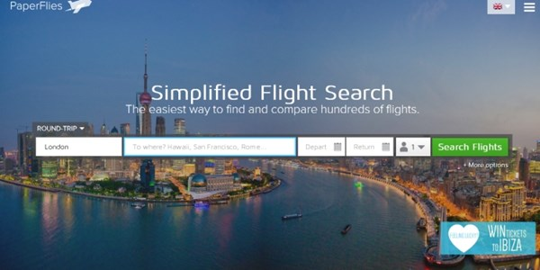 Startup pitch: PaperFlies wants flight search to be fun and inspirational