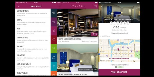 The Stayful hotel app: No trend left behind