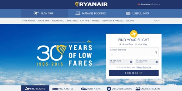 Ryanair claims second screen-scraping victory