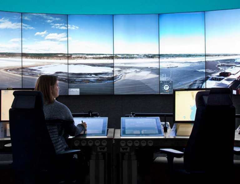 Remote-controlled airport suggests tech-heavy future of air traffic