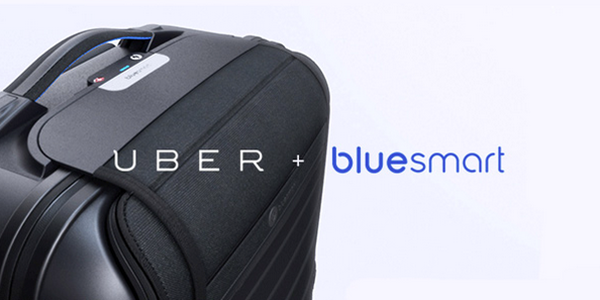 Bluesmart partners with Uber to go pick up your lost luggage