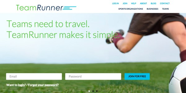 Startup pitch: TeamRunner simplifies group sports team travel