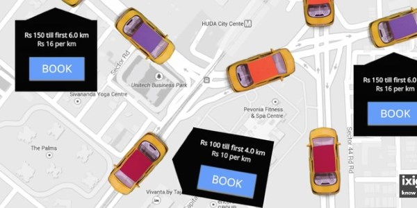 Ixigo joins in as taxis and ride-sharing take hold in India