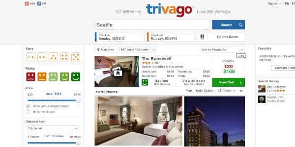 Meta is the place for Expedia - Trivago doubled its revenue in just one year