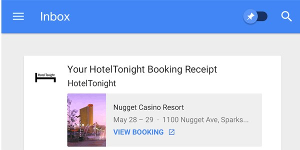 Watch out, TripIt: Google Inbox adds Trip Bundles, an itinerary-tracker