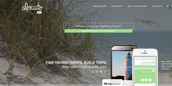 Startup pitch: Alocato finds nearby getaways by asking where you are