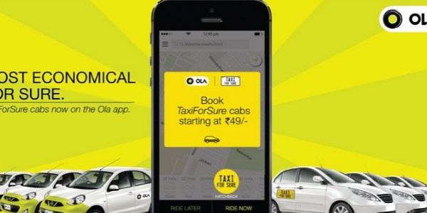 Ola and TaxiForSure take baby steps towards integration