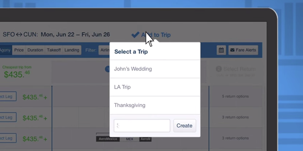 Hipmunk expands feature set to include trip planning tools