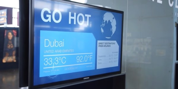 Destination weather technology - a new passenger experience for airports