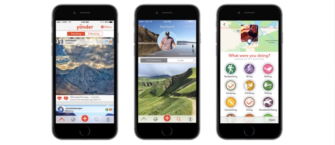 Yonder Gets 2 Million Funding To Expand Adventure Travel App Phocuswire