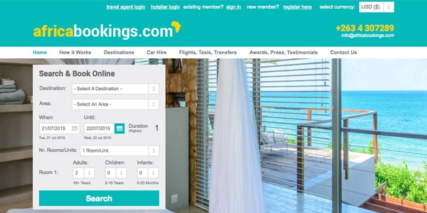 Startup pitch: Africabookings is a central reservation system for hotels