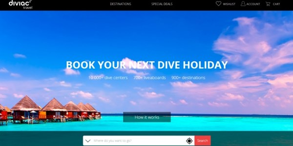 Startup pitch: Diviac seeks to bring scuba diving holidays into the digital world
