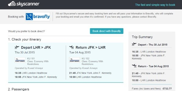 Skyscanner tests bookings on air tickets, claims huge jump in conversions