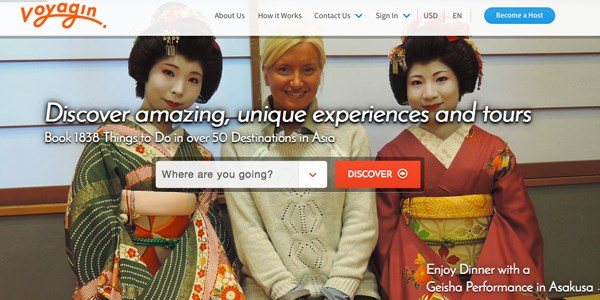 Rakuten acquires Voyagin, an Asian tours and activities startup