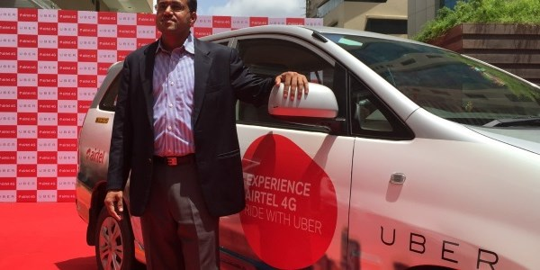 Uber riders in India get free in-car wifi, Airtel payments