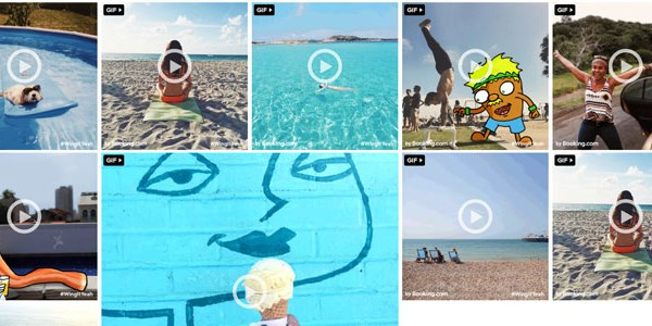 Turning vacation pics into GIFs, Booking.com lunges for marketing gold
