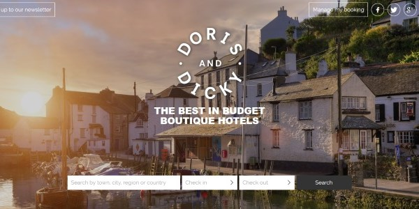 Startup pitch: Doris & Dicky tout budget boutique hotels