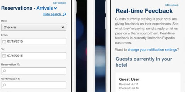 Expedia's PartnerCentral App is its first B2B hotelier-facing mobile app