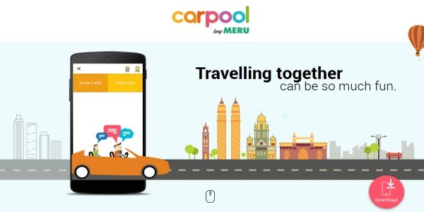 Meru blindsides upstart Uber with carpooling brand