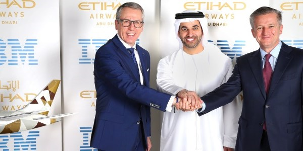 Etihad (and partners) sign $700 million tech deal with IBM