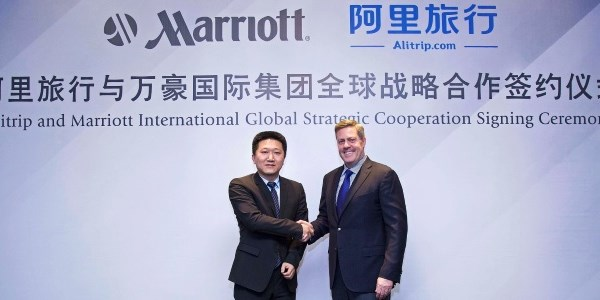 Marriott International signs up with Alitrip