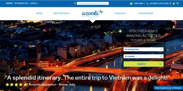 Azooki attracts seed capital for tours and activities push in Asia