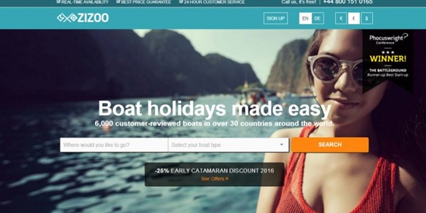 Zizoo continues course to bring boating holidays to the masses