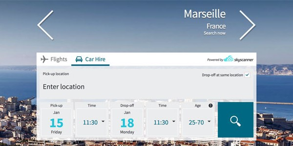 Skyscanner adds white-label car rental search, Mundi is first taker