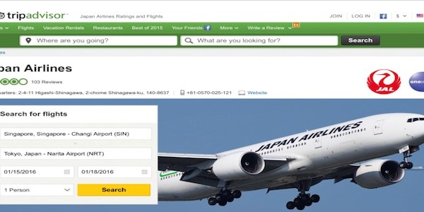 TripAdvisor adds airline reviews to its armoury