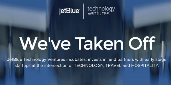 JetBlue opens VC fund focusing on travel and hospitality startups