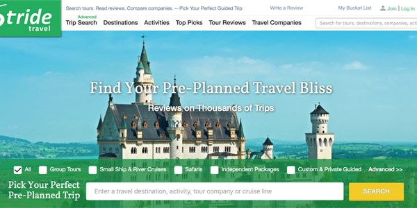 Startup pitch: Stride applies metasearch to tours and adventure travel
