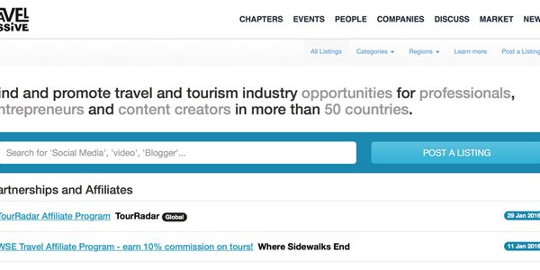 Travel Massive launches an industry marketplace