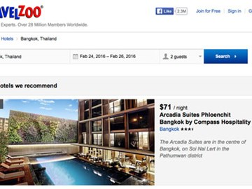Travelzoo to grow hotel search and China bookings