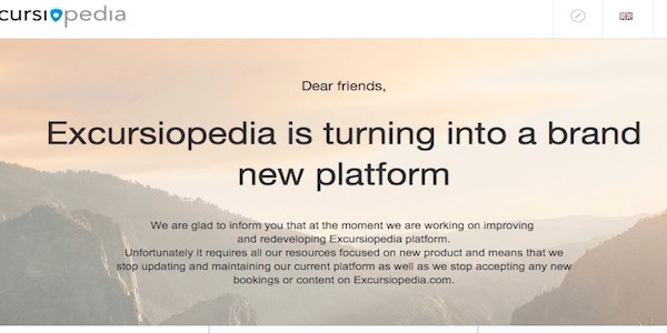 Excursiopedia suspends site to focus on new product