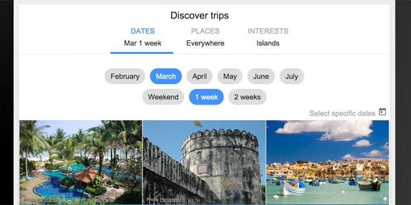 Google Flights now pushes flexible destination search, aiming at trip inspiration