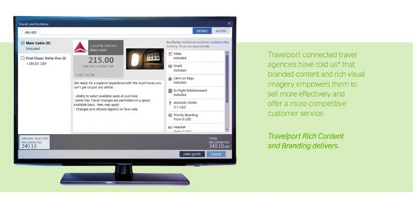 Travelport touts 100 airlines added in a year to its rich content tool