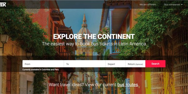 Startup pitch: PanTrek rolls in with inter-city bus booking for Latin America