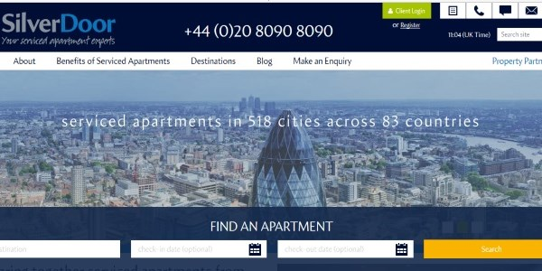 SilverDoor consolidates serviced apartments top slot