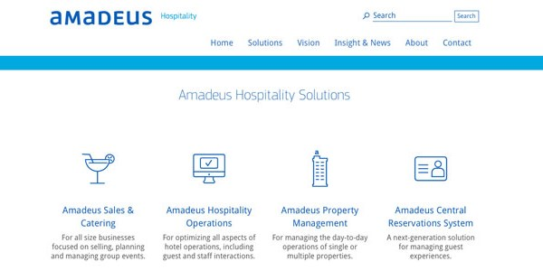 Amadeus Hospitality's new CEO discusses the hotel tech