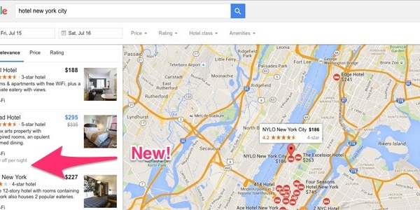 Google adds airfare tracking, hotel deal spotting, and filters to its metasearch