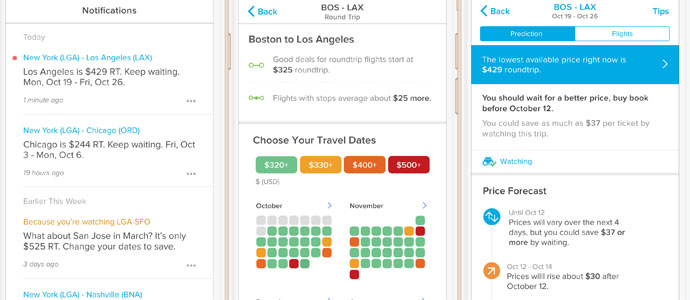 Hopper the mobile app for flight booking claims hockey stick growth
