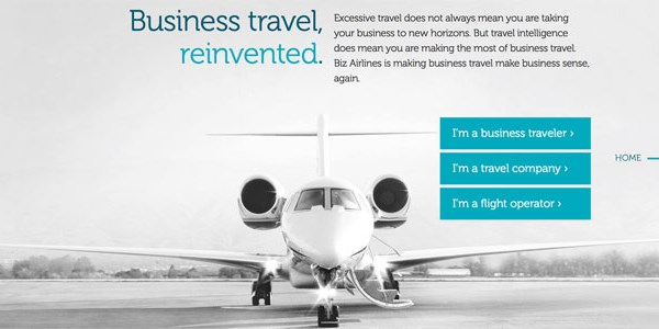 Startup pitch: Biz Airlines aims to justify to your boss that costlier flight