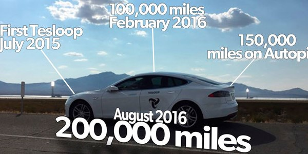 Tesloop offers rideshares in Teslas around Southern California and Las Vegas