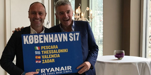 Ryanair sees vacation packages as a growth area