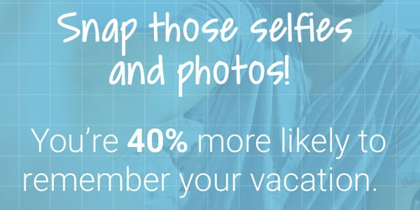 Travelers who take selfies remember their trips better, study claims
